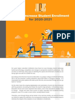 How to Increase Student Enrollment for 2020-2021