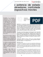 7. Interfaz de Potencia de Estado Sólido y Relevadores Controlada Mediante Dispositivos Móviles.