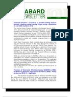 Web Newsletter - April 2010 - English