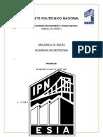 PRACTICA 1 MECA IDENTIFICACION DE FORMACIONES GEOLOGICAS