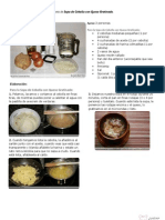 V.imprimible de Sopa de Cebolla Con Queso Gratinado