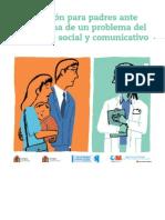 Información para padres ante sospecha de problema desarrollo social y comunicativo