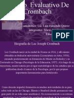 Copia de Modelo Evaluativo De Crombach