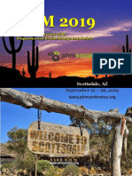 PHM Conference 2019 Program