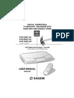 Sagem Pvr6200t 6600t 7200t Uk Manual