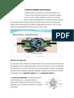 TAREA TIPOAS DE BOMBAS ROTATORIAS