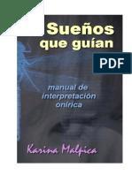 Sueños que guían. Manual de interpretación onírica. Karina Malpica.