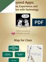 ED628 Session 4