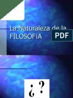 01. NATURALEZA DE LA FILOSOFIA 2020