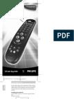 Philips Universal Remote Control SBC RU 644 English Manual
