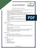 Check List Du Dechiffrage