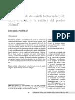 Los Cuícatl de Acomiztli Netzahualcóyotl, entre el ritual y la estética del pueblo Náhuatl
