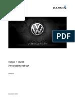 VW Up Garmin Manual