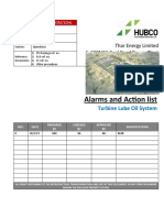 ALARMS AND ACTION LIST OF TURBINE OIL SYSTEM.docx