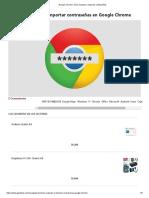 Google Chrome_ cómo exportar e importar contraseñas.pdf