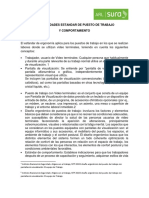 RECOMENDACIONES ESPECIFICAS DE PUESTO DE TRABAJO