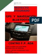 Proyecto GPS  Y  NAVEGACIÓN BLUETOOTH ultimo