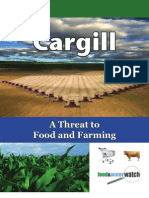 Cargill a Threat to Food