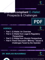 Shariah-compliant E-Wallet Prospects & Challenges (28 October 2020 ISRA Consulting)