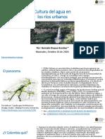 Cultura del Agua en los Ríos Urbanos