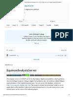 _EquinoxAnalysisServer_ Data analysis server for fatigue-digital-twin platform_