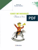 Caiet de vacanta Clasa a 3-a Ed.2018 - Marilena Nedelcu, Mirela Ilie