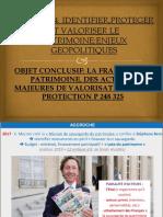 LA FRANCE ET LE PATRIMOINE,DES ACTIONS MAJEURES DE VALORISATION ET DE PROTECTION