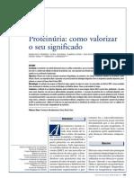 2008-Proteinúria - como valorizar o seu significado