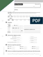 3º Ano Matemática - Areal Editores Fichas de Avaliação