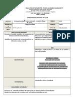 Formato planeación de clase lengua castellana bachillerato