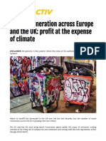 Waste Incineration profit at the expense of climate