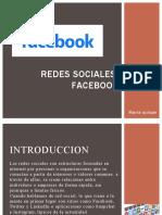 Redes Sociales Faceboock