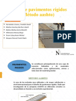 Diseño de pavimentos rigidos (Mètodo Aashto)