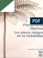 Le vieux nègre et la médaille - Ferdinand Oyono