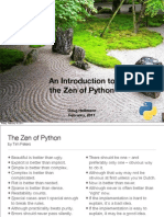 An Introduction to the Zen of Python