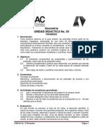 UNIDAD DIDACTICA No.20 PIRAMIDES