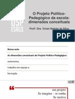 Slide Proj Pol Pedag - Dimensooes Conceituais