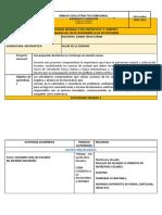AGENDA SEMANAL 3 DEL PROYECTO N4  QUINTOS