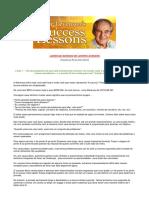 Lições de Sucesso de Lester Levenson