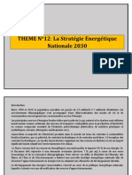 THEME N°12 LA STRATEGIE ENERGETIQUE NATIONALE 2030.docx
