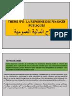 THEME N°5 LA REFORME DES FINANCES PUBLIQUES.docx