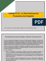 THEME N°17 Le Plan National de Promotion des Emplois PNPE 2021.docx