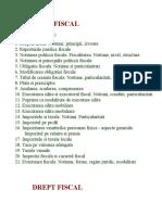 dr fiscal - subiecte si teme
