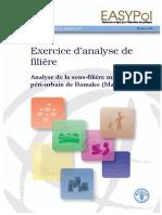 L'approche filière - Exercice analyse filière