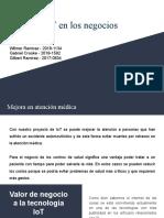 Usos del IoT en los negocios