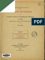 DFIFAO 4 Cerny, Jaroslav, G - Catalogue des ostraca hiératiques non littéraires de Deir el Médineh II.1 n°114-189 _1937) LR