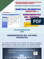 CLASES 7 HERRAMIENTAS DEL S.O