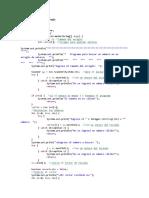 Java busqueda y orden