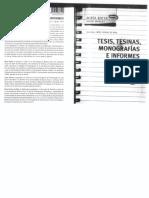 Botta, Mirta - Tesis, tesinas, monografías e informes. Capítulo 1, Géneros académicos y escritura profesional