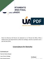 PRESENTACION CURSO FINAL DE GRADO